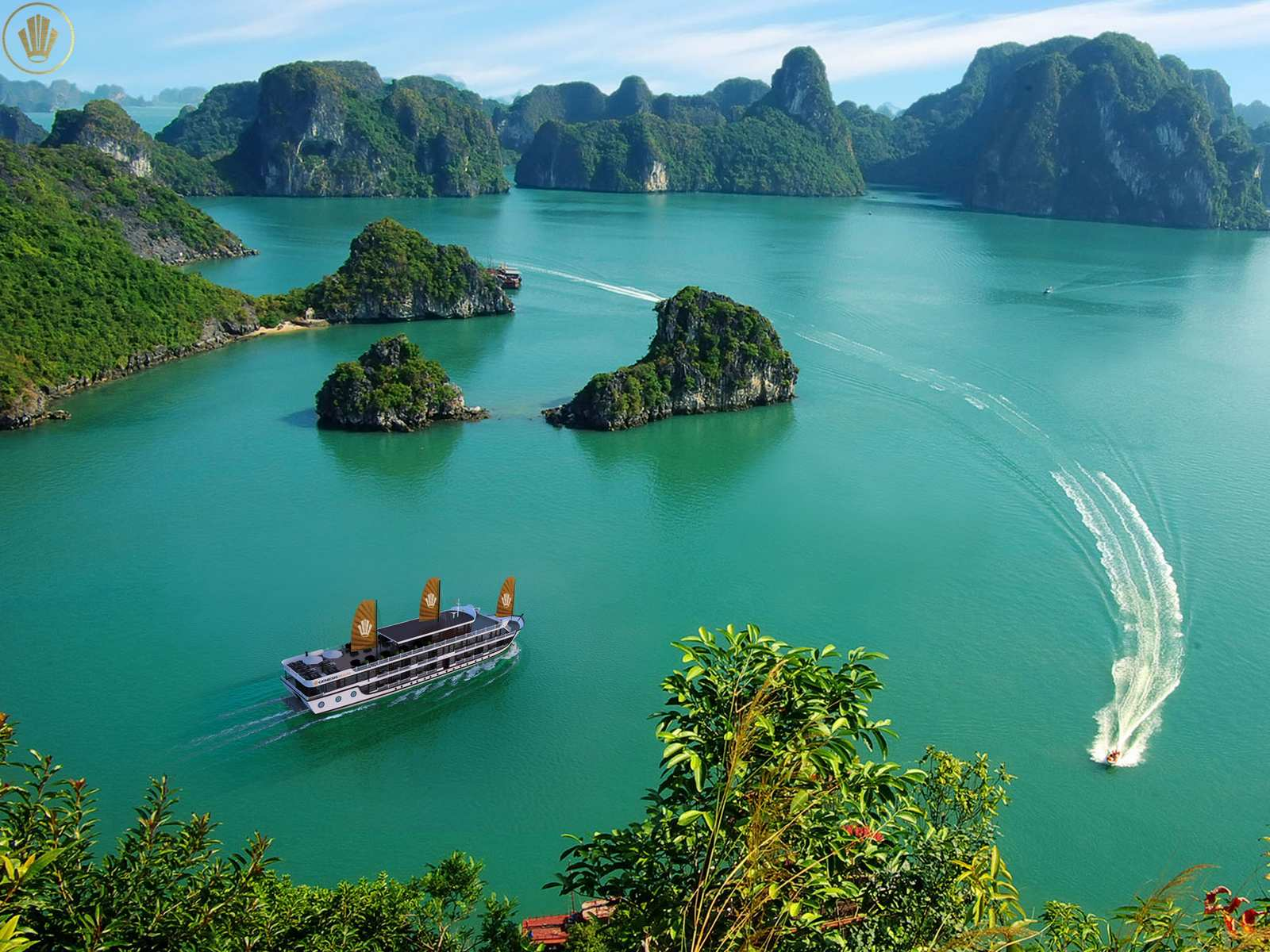 GENESIS REGAL CRUISE Ha Long Bay 2 Days 1 night
